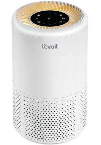el Polvo CHUANGE Mini purificador de Aire para los Fumadores dom/ésticos alergias y Pelo de Mascotas Filtro hepa 3 en 1 para el hogar y la Oficina Elimina el Olor a Humo