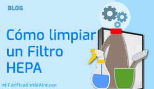 """Cómo Limpiar un Filtro HEPA"""" class="""